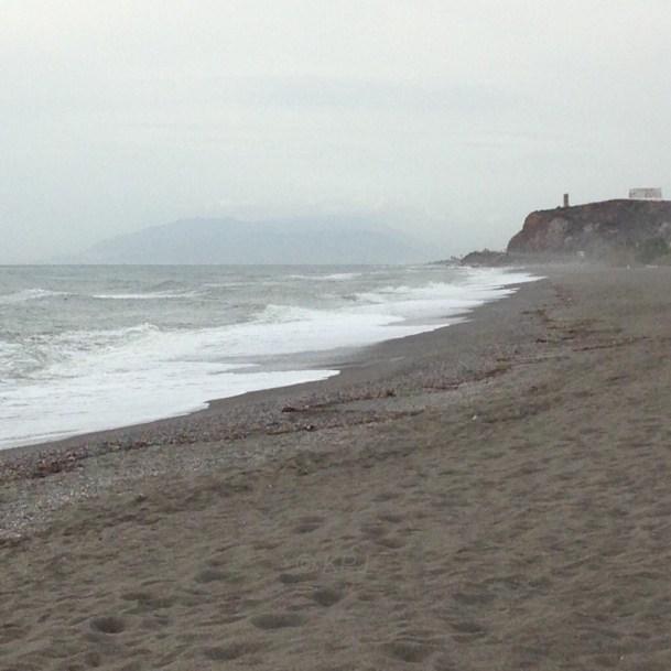 Looking west (towards Málaga)
