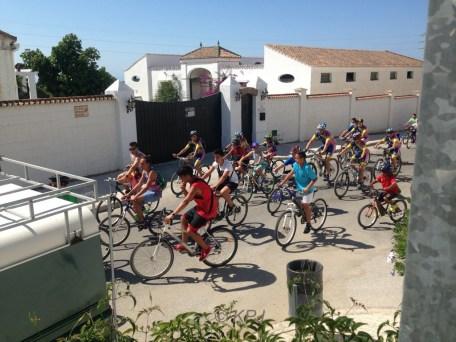 Día de pedal in our village