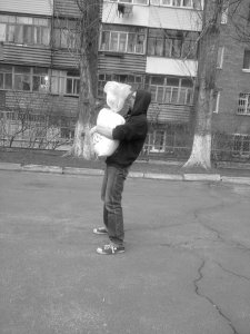 Sandbag Bear-Hug Good Morning