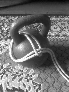 Kettlebell and Knotted Rope