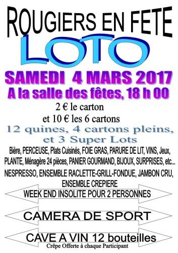 Loto mardi Gras - Rougiers en fête