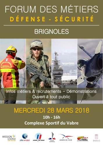 Forum des Métiers . Défense - Sécurité