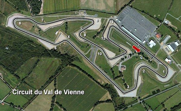 Circuit Val De Vienne Calendrier 2019.Circuit Du Vigeant
