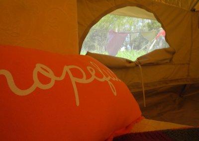 La tente Bell Tent de 4m de diamètre