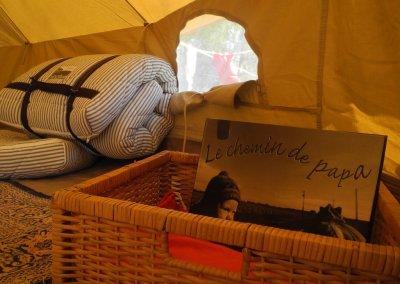 La tente Belle Tent de 4m de diamètre