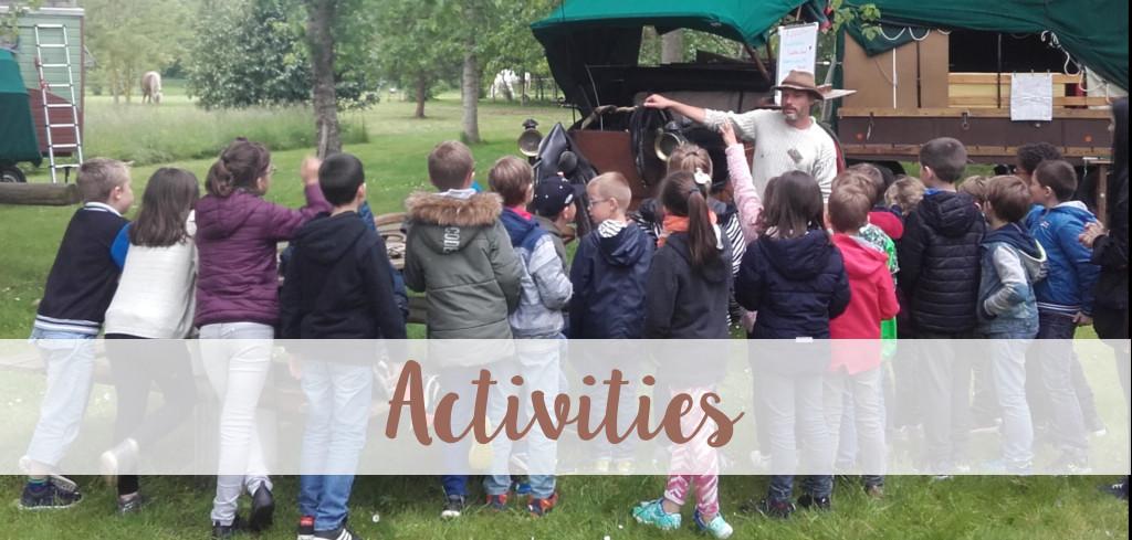 activities banner