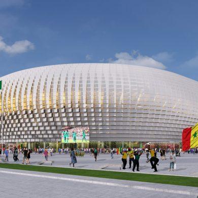 Football stadium in Dakar, Senegal by Tabanlioglu Architects