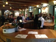 Tasting room of wine tour stop #1 of 4, Fairview in Paarl, with awesome cheese tasting as well!!