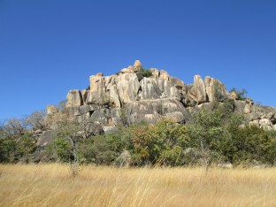 Granite formations at Matobo National Park