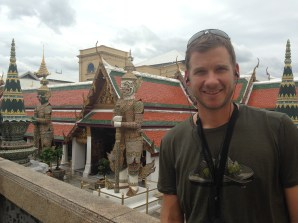 We splurged on audio guides for the tour of Wat Phra Kaew (shown here) and the Grand Palace