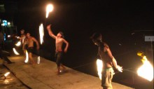 Fire show on Railay, prett traditional on the Thai islands
