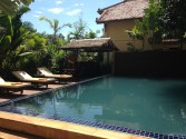 Pool at hotel in Siem Reap