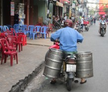 If only Jon had motor bikes to carry kegs while pledging at UVa