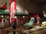 Cultural section of the HK history museum - one of the better museums we've visited