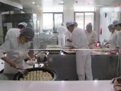 Dumpling factory - this from a food court in a mall (throughout China, food courts in malls have some of the best food)