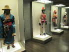 Displays of all the ethnic groups in China at the Shanghai Museum