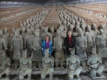We are terracotta warriors.