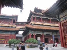Lama temple - HUUUGE standing buddha inside