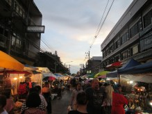 Saturday night market in Chiang Mai