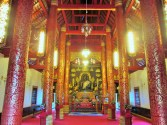 Inside one of the many, many wats visited in Chiang Mai and Chiang Rai
