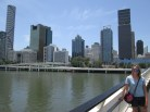 Great ferry ride then walk along South Bank, which is along the Brisbane river
