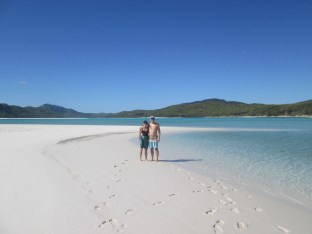 Whitehaven beach - dubbed top 3 beach in the world - easy to see why