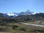 30 min hike to viewpoint outside of El Chaltan