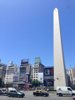 Obelisk in Plaza de Republica