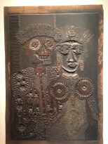 Antonio Berni print slate at MALBA museum