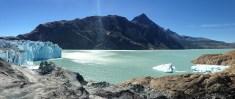 Viedma glacier panorama