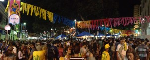 Pano of Carnaval in Recife
