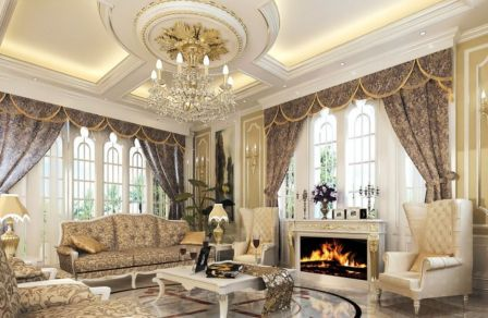 Best ideas luxurious and elegant living room design (7)