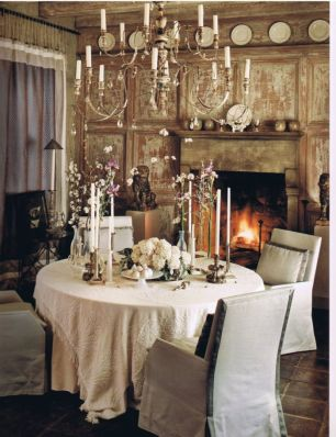 Charming and beautiful provence dining spaces (6)