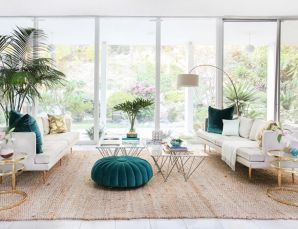Colorful and spring living room designs (11)