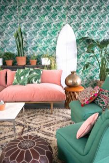 Colorful and spring living room designs (8)