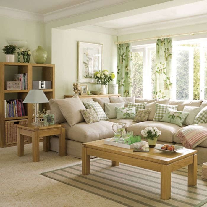 31 Colorful And Spring Living Room Designs
