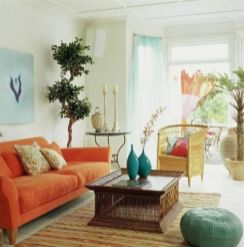 Cool brown and blue living room designs (3)