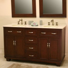 Cool ideas to use big mirrors in your bathroom (2)