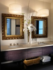 Cool ideas to use big mirrors in your bathroom (4)