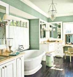Cozy and relaxing farmhouse bathroom designs (13)