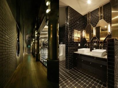 Dark moody bathroom designs that impress (19)