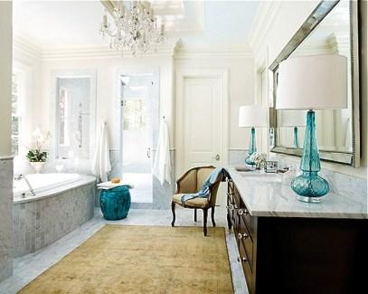 Delicate feminine bathroom design ideas (14)