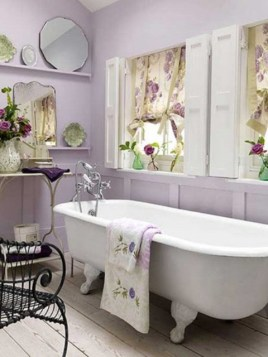 Delicate feminine bathroom design ideas (8)