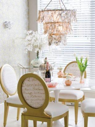 Elegant feminine dining room design ideas (18)