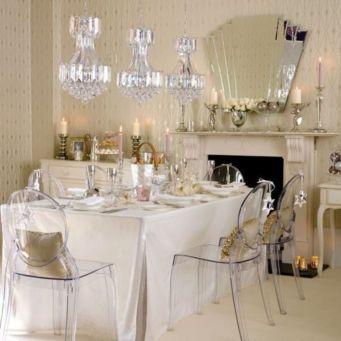 Elegant feminine dining room design ideas (2)