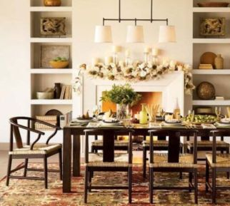Elegant feminine dining room design ideas (20)