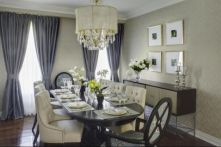 Elegant feminine dining room design ideas (23)