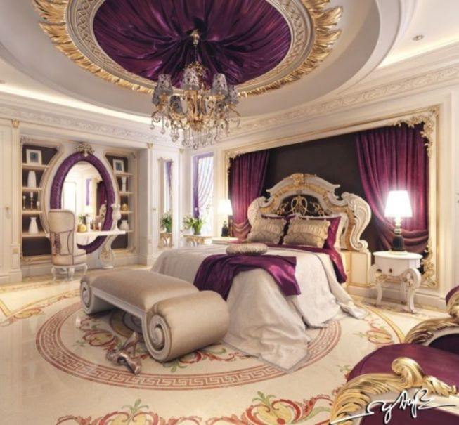 Glamorous bedroom design ideas (21)