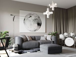 Graceful stylish living room designs (1)