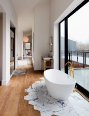 Luxurious marble bathroom designs (17)